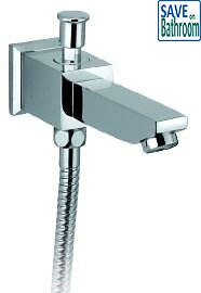 Bathroom Square Bath Spout With Diverter SP013