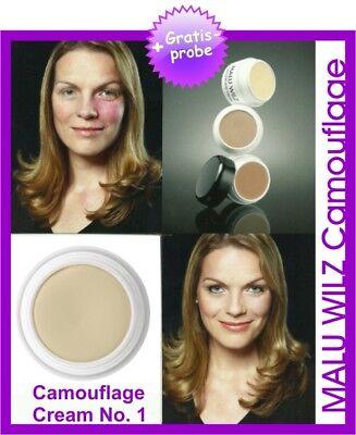 "Malu Wilz ""Camouflage""- Cream Farb No. 01"