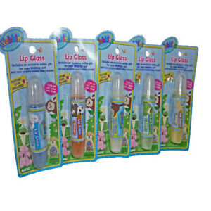 Webkinz-Set-of-5-Flavors-of-Lip-Glosses-with-Codes