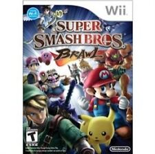 Super Smash Bros.. Brawl Nintendo Wii 12+ Rated Video Games