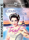Elizabeth Taylor Triad (DVD, 2004, 3 features)
