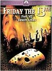 Friday the 13th - Part 6: Jason Lives (DVD, 2001, Sensormatic) (DVD, 2001)