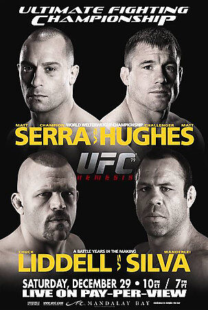 UFC 79: Nemesis DVD FREE SHIPPING!!