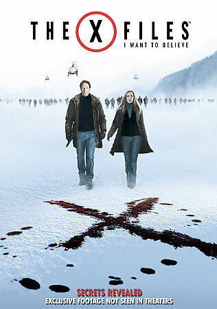 The X-Files: I Want to Believe (DVD, 2008)