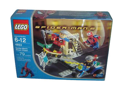 Lego spider man 2 39 s street chase 4853 for sale online ebay - Lego spiderman 2 ...