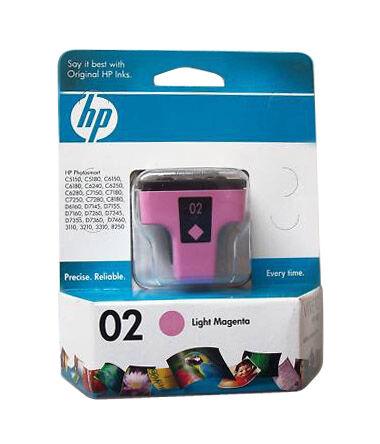 HP 02 (C8775WN#140) Light Magenta Ink Cartridge