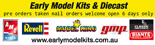 Early Model Kits and Diecast