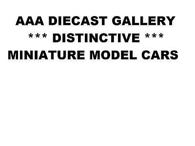 AAA DIECAST GALLERY