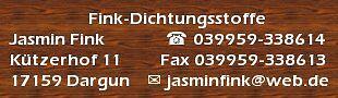Fink-Dichtungsstoffe