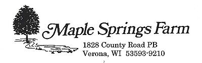 Maple Springs Farm LLC