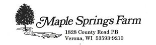 Maple Springs Farm