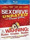 Sex Drive (Blu-ray Disc, 2009, 2-Disc Set, Unrated and Cream-Filled)