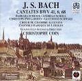 Cantates BWV 6/41/68 (1998)