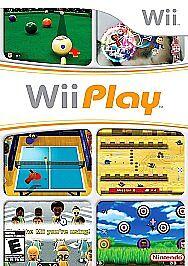 Wii Play (Nintendo Wii, 2007) Complete