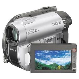 Sony-DCR-DVD610-DVD-Video-Camera