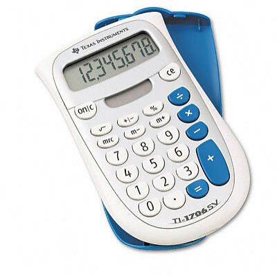 Texas Instruments 1706 SV Basic Calculator
