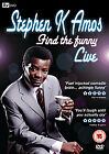 Stephen K. Amos - Find The Funny (DVD, 2009)