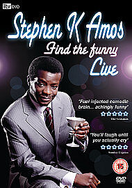 Stephen K Amos  Find The Funny DVD 2009 - Dalry, United Kingdom - Stephen K Amos  Find The Funny DVD 2009 - Dalry, United Kingdom