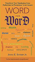 Word-for-Word-James-E-Snyder-Paperback-2009