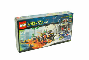 NEW Lego Agents 8968 River Heist New SEALED