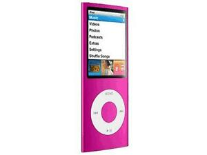 apple ipod nano 4th generation chromatic pink 8 gb 8gb mp3 player mb735ll a 885909258406 ebay. Black Bedroom Furniture Sets. Home Design Ideas