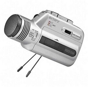 Sony-Micro-Cassette-Clear-Voice-Recorder-with-Stand-M-100MC