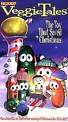 VEGGIE-TALES-THE-TOY-THAT-SAVED-CHRISTMAS-video-VHS
