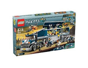 NEW Lego Agents 8635 Mission 6 : Mobile Command Center New SEALED