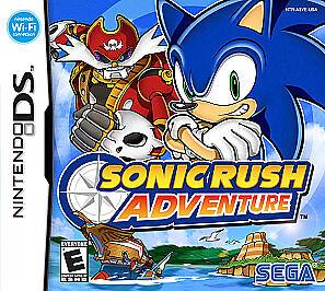 Sonic Rush Adventure Nintendo DS, 2007  - $2.50