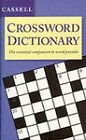 Cassell Crossword Dictionary by Geddes and Grosset (Hardback, 1996)