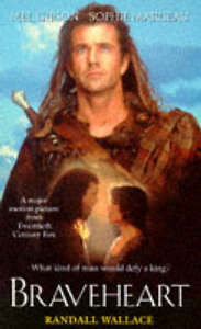"""AS NEW"" Braveheart, Wallace, Randall, Book"
