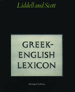 Abridged-Greek-Lexicon-Liddell-H-G-New-Book