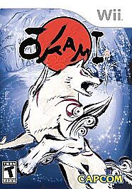 Okami-BRAND-NEW-Nintendo-Wii-Capcom-Games-GREAT-GAME