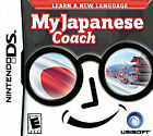 Nintendo DS My Japanese Coach Educational Video Games