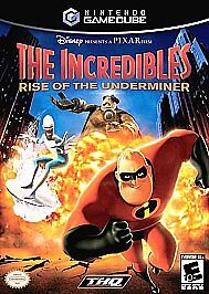 The Incredibles: Rise of the Underminer (Nintendo GameCube, Excellent Condition)
