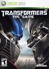 Transformers: The Game (Microsoft Xbox 360, 2007)