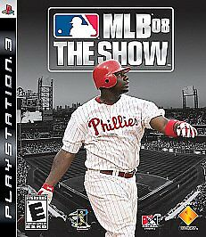 MLB-08-The-Show-GAME-Sony-PlayStation-3-PS-PS3-2008-2K8