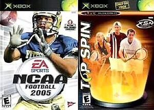 NCAA-Football-2005-Top-Spin-Combo-Xbox-2004-2004