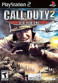 Call-of-Duty-2-Big-Red-One-Sony-PlayStation-2-2005-SEALED
