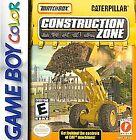 Matchbox Caterpillar Construction Zone (Nintendo Game Boy Color, 1999)