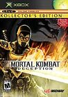 Mortal Kombat: Deception - Scorpion Version (Kollector's Edition) (Microsoft Xbox, 2004)