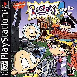 Rugrats-Studio-Tour-PS1-Good-PlayStation-Video-Games