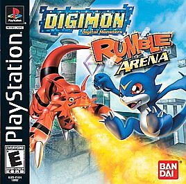 Image result for Digimon Rumble Arena (2002)