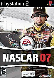 NASCAR 07 Racing Sony PlayStation 2 COMPLETE CIB PS2 - $2.99