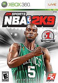 NBA 2K9 (Microsoft Xbox 360, 2008) 710425394829