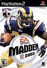 Madden NFL 2003 (Sony PlayStation 2, 2002)