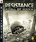 Resistance: Fall of Man  (Sony Playstation 3, 2006) (2006)