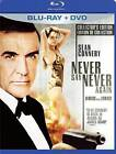 Never Say Never Again (Blu-ray/DVD, 2010, Canadian)