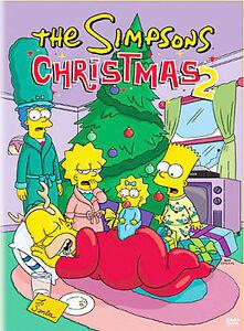 The-Simpsons-Christmas-2-DVD-2004-4-DVD-Episodes-Bart-Homer-Brand-New