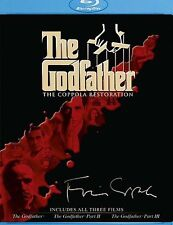 The Godfather Collection (The Coppola Restoration) Blu-ray Disc, 2008, Sealed!